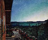 Summer Night 1899 By Harald Sohlberg