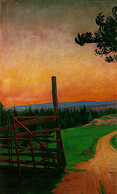 Country Road 1912 By Harald Sohlberg