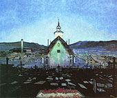 Night 1904 By Harald Sohlberg