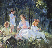Sunlit Afternoon 1915 By Catherine Wiley