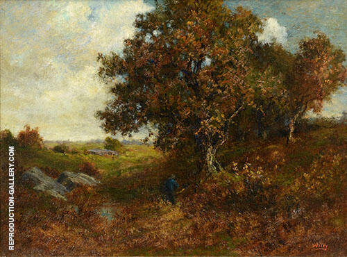 Landscape with Figure By Catherine Wiley