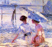 Summer Day at Newport By Catherine Wiley