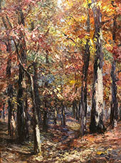 Woodland Scene 1920 By Catherine Wiley