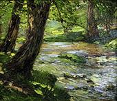 Woodland Stream By Catherine Wiley