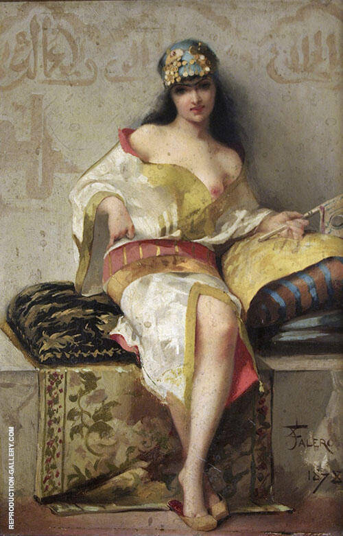 Spanish Dancer 1878 Painting By Luis Ricardo Falero - Reproduction Gallery
