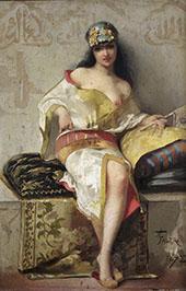 Spanish Dancer 1878 By Luis Ricardo Falero