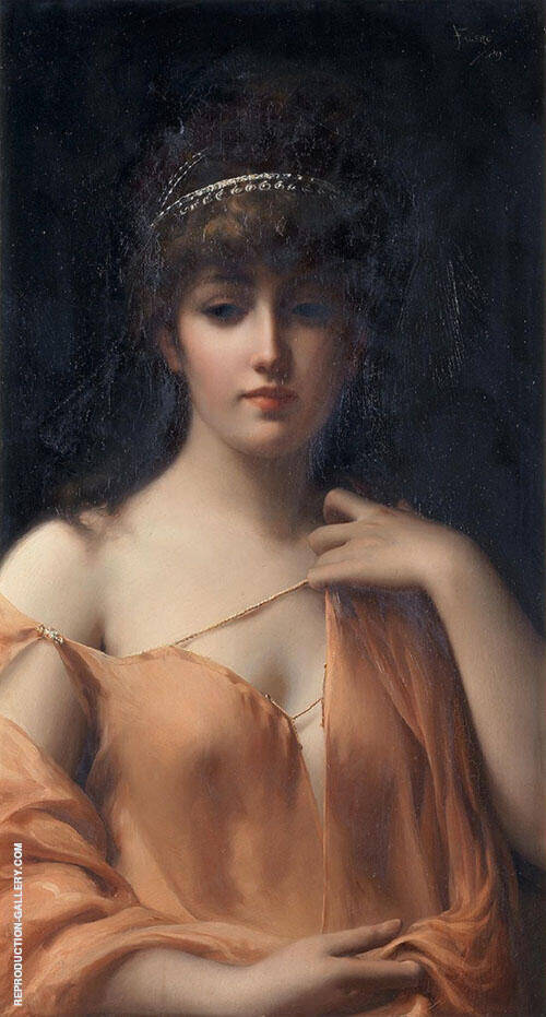 Classical Beauty By Luis Ricardo Falero