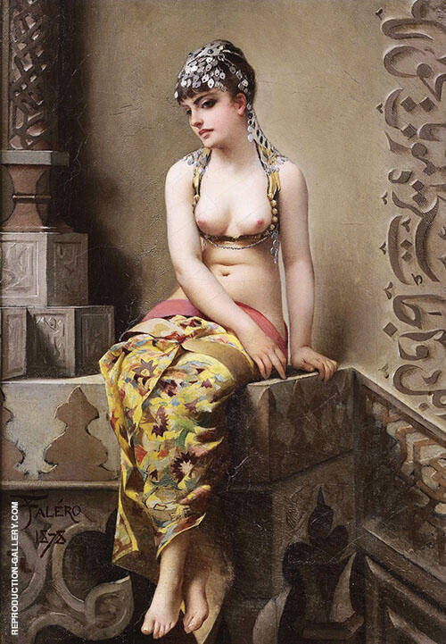 The Enchantress 1878 Painting By Luis Ricardo Falero