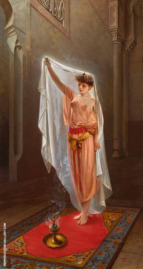 Oriental Beauty 1895 By Luis Ricardo Falero