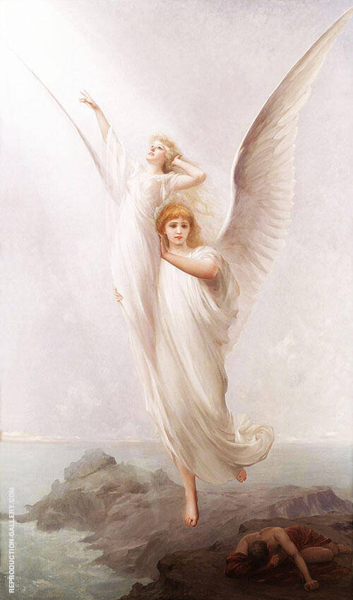 The Human Soul 1894 By Luis Ricardo Falero