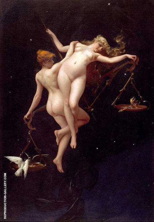 The Judgement of Fate By Luis Ricardo Falero