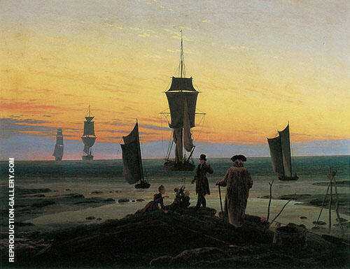 Periods of Life By Caspar David Friedrich