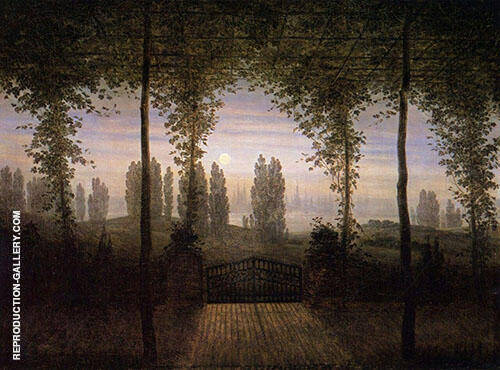 Picture in Remembrance of Johann Emanuel Bremer 1817 By Caspar David Friedrich