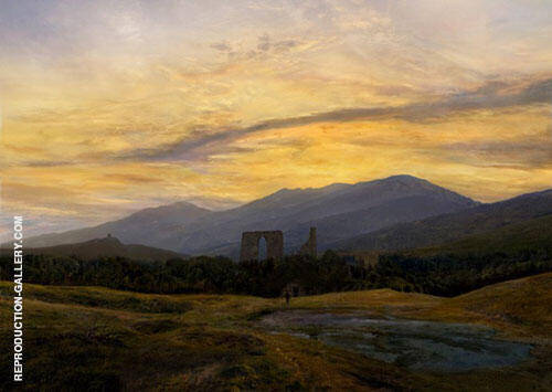 Ruin in The Giant Mountains 1834 By Caspar David Friedrich