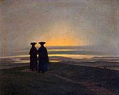 Sunset Brothers By Caspar David Friedrich