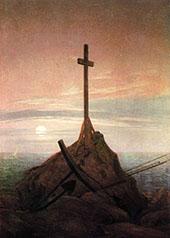 The Cross Beside The Baltic 1815 By Caspar David Friedrich