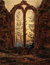 The Dreamer 1840 By Caspar David Friedrich