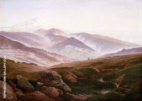 The Giant Mountains 1830. By Caspar David Friedrich