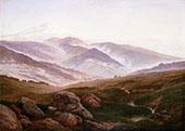 The Giant Mountains 1830. By Caspar David Friedrich