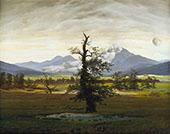 The Lonely Tree By Caspar David Friedrich