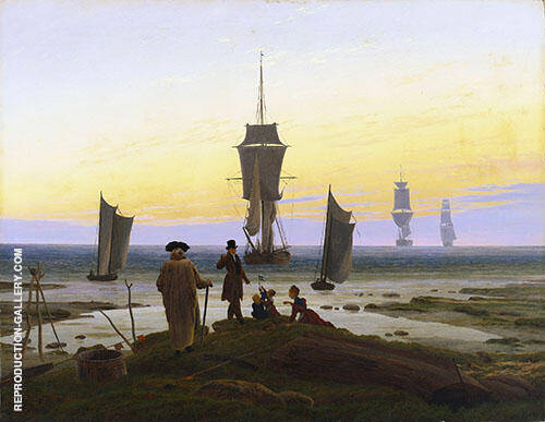 The Stages of Life 1835 Painting By Caspar David Friedrich