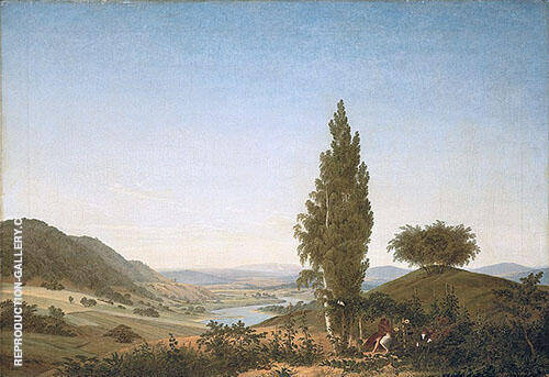The Summer 1807 By Caspar David Friedrich