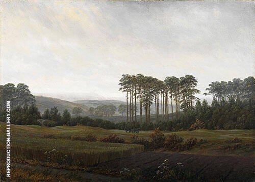 The times of day The afternoon 1821 By Caspar David Friedrich
