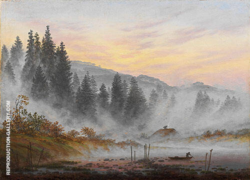 The Times of day The morning 1821 By Caspar David Friedrich