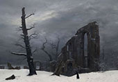 The Winter 1807 By Caspar David Friedrich
