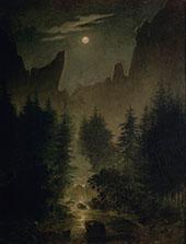 Uttewalder Grund 1825 By Caspar David Friedrich