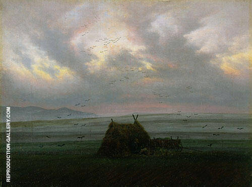 Waft of Mist 1820 By Caspar David Friedrich