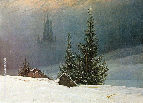 Winter Landscape 1811 By Caspar David Friedrich