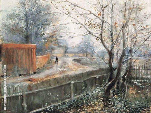 Autumn Varberg 1888 By Nils Kreuger
