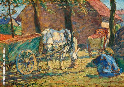 Lunch Break 1917 By Nils Kreuger