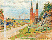 Lunda Street with a View over the Hogalid Church By Nils Kreuger