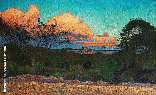 Swelling Skies 1901 By Nils Kreuger