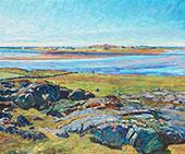 Landscape from Varberg By Nils Kreuger