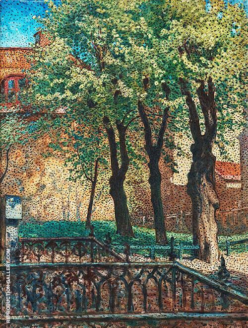 Fran Maria Kyrkogard 1899 By Nils Kreuger