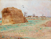 Haystack in the Field By Nils Kreuger