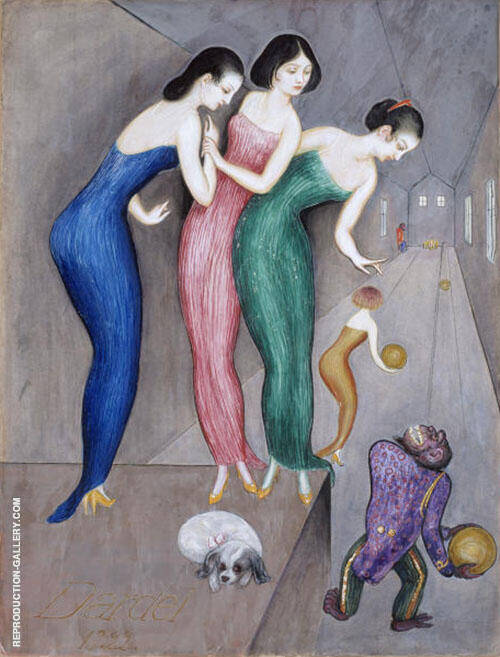 Dreams and Fantasies 1922 Painting By Nils Dardel - Reproduction Gallery