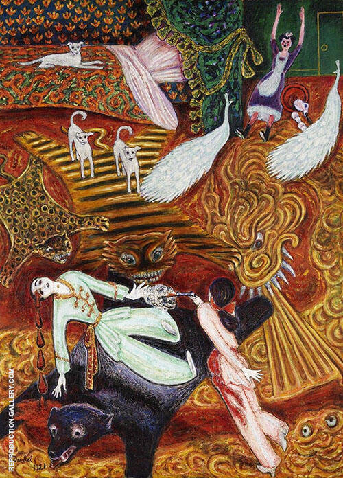 Crime of Passion By Nils Dardel