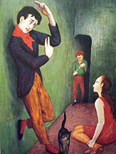 Paranoid 1925 By Nils Dardel