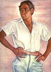 Mexican Boy 1940 By Nils Dardel