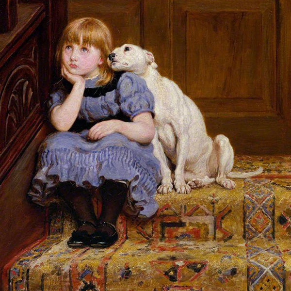 Oil Painting Reproductions of Briton Riviere