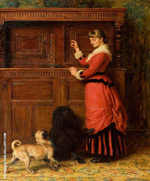 Cupboard Love 1881 By Briton Riviere