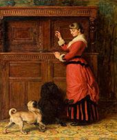 Cupboard Love 1881 By Briton Riviere