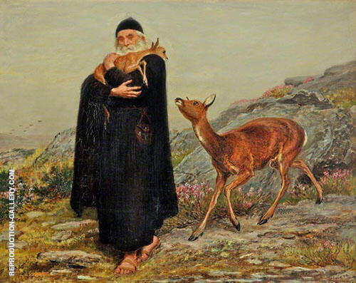 Legend of Saint Patrick By Briton Riviere