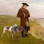 An Exile of the 45 By Briton Riviere
