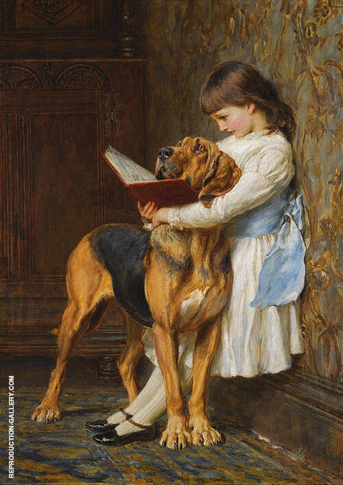 Compulsory Education By Briton Riviere