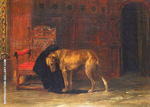 Faithful to the Last Dog By Briton Riviere